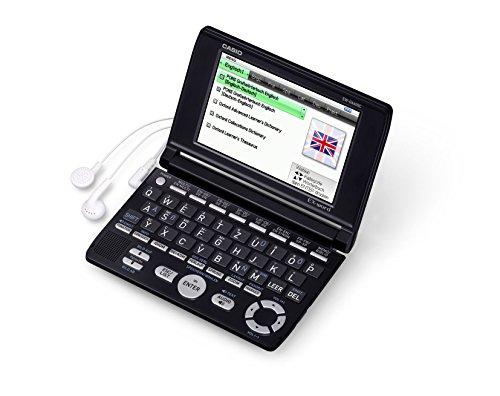 Casio EX-Word EW-G6600C Elektronisches Wörterbücher für Deutsch, Englisch, Französisch und Spanisch