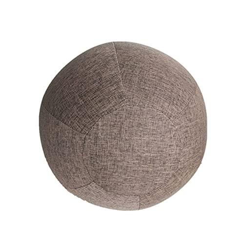TASJS 55 cm, 65 cm, Bola de Yoga de 75cm ProtectiveCover, Gimnasio Balance de Balance de Entrenamiento, para Yoga Gimnasio Ejercicio Accesorios de Fitness (Color : C, Size : 75cm)
