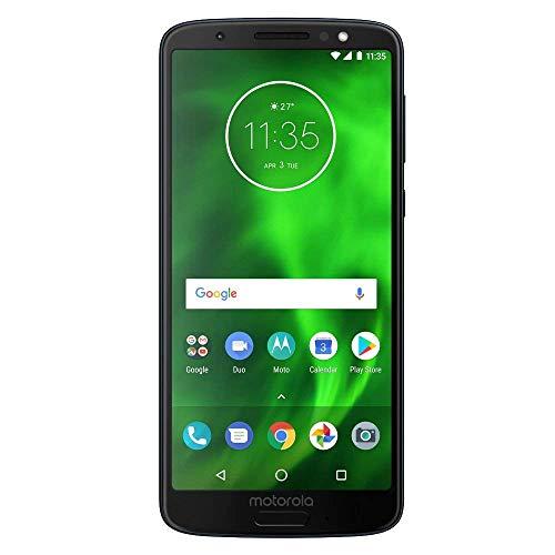Motorola Moto G6 (32GB, 3GB RAM) 5.7  Full HD+ Display, Dual Camera, 4G LTE Single SIM GSM Factory Unlocked XT1925-1 - International Model (Indigo)