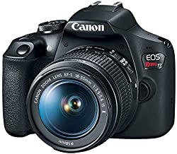 Canon EOS Rebel T7 DSLR Camera with 18-55mm Lens | Built-in Wi-Fi|24.1 MP CMOS Sensor |DIGIC 4+ Image Processor and Full HD Videos