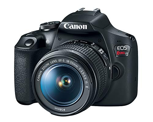 Canon EOS Rebel T7 DSLR Camera with 18-55mm Lens | Built-in Wi-Fi|24.1 MP CMOS Sensor...