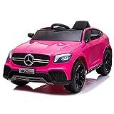 ATAA Mercedes GLC Coupe Edition - Rosa - Coche eléctrico para niños de batería 12v