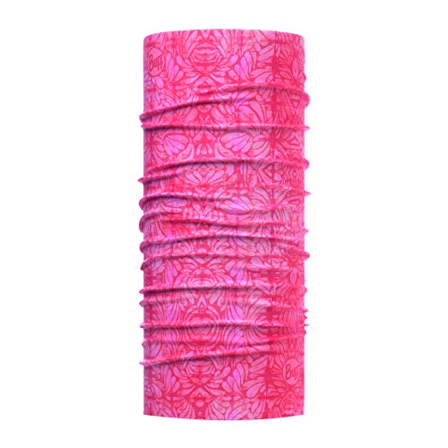 Buff Erwachsene Coolnet Uv+ Multifunktionstuch, Calyx Salmon Rose, One Size