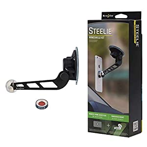 Nite Ize Original Steelie Windshield Mount Kit - Magnetic Car Windshield Mount for Smartphones