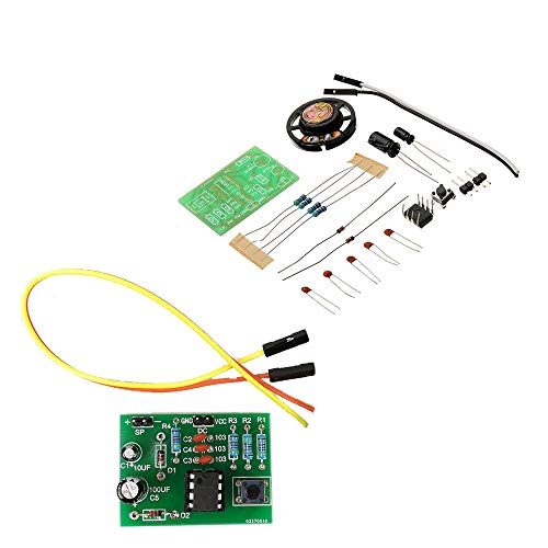 PKA DIY NE555 Ding Dong Timbre Kit de módulo de timbre DIY...
