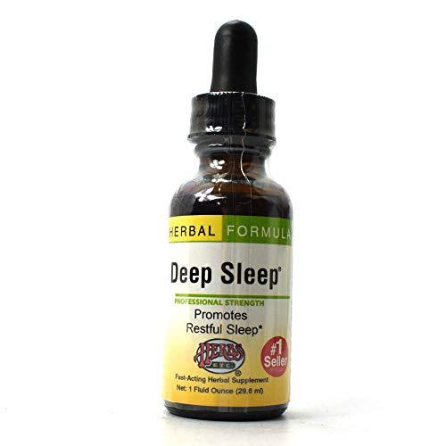Herbs Etc, Deep Sleep, 1 Fl Oz