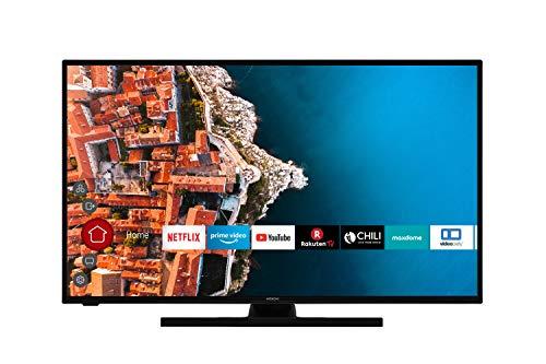 HITACHI Televisor F43E4200 de 108 cm (43 pulgadas) (Full HD, Smart TV, Prime Video, Netflix, Works with Alexa, Bluetooth, sintonizador triple, PVR)