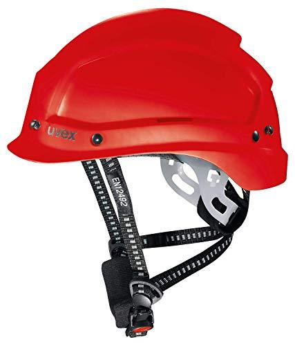 Uvex 9773350 Schutzhelm für die Baustelle - Bauhelm für Erwachsene - Rot