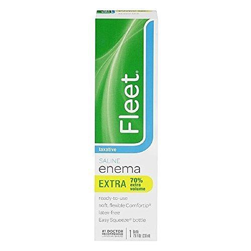 Fleet Saline Laxative Enema 7.8 oz (Pack of 12)