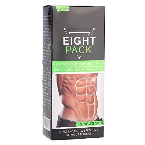 Crema de apretamiento muscular abdominal para hombres y mujeres, quema de grasa, en forma de cuerpo adelgazante, fortalecimiento muscular abdominal, cremas anti-celulitis de vientre muscular 170g