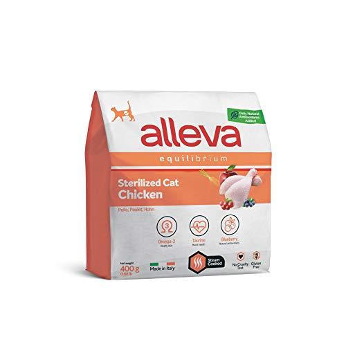 Alleva Equilibrium Chicken Sterilized Cat 400g