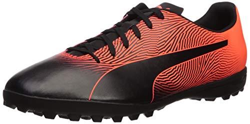 PUMA mens Puma Spirit Ii Tt Sneaker, Puma Black-red Red, 9.5 US