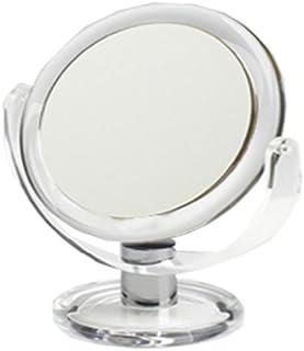 6-Inch 27.8-Ounce Box 1x//7x Swissco Chrome /& Acrylic Standing Mirror