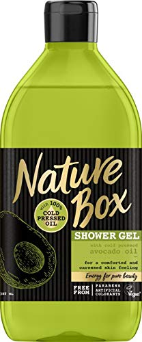 Nature Box Douchegel Avocado, 385 Ml