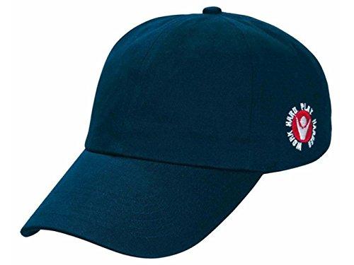 ATELIER DEL RICAMO Cappello Baseball con Visiera Macron Dart-Blu Navy