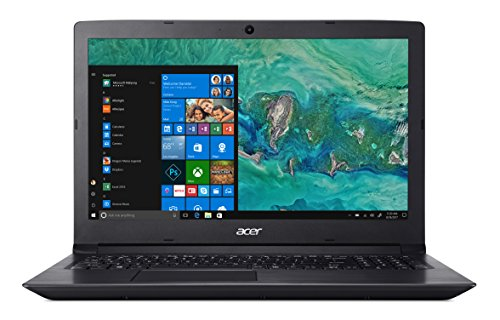 "Acer Aspire 3 A315-41-R8TH Notebook Processore AMD Ryzen 3 2200U, RAM da 8 GB DDR4, 256 GB SSD, Display da 15.6"" HD, Nero"