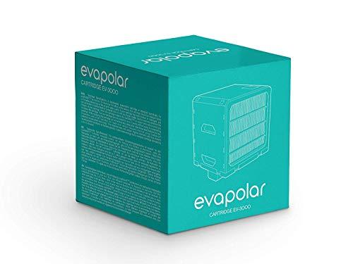 Evapolar Ersatz-Verdunstungskartusche für evaSmart Personal Luftkühler + Luftbefeuchter