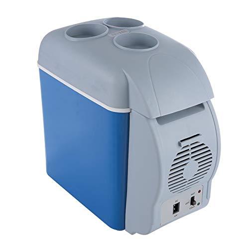 12V 7.5L Mini Hogar Camping Nevera Eléctrica Enfriador Caja Refrigerador Calentador de Viaje Caja Portátil Congelador