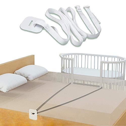 Accesorio de cama universal,Correa de cuna,Cinturón de cuna,Accesorios cama supletoria,Barandilla de cama de bebé,Parachoques de barandilla de cama lateral,Barandilla de cama de bebé