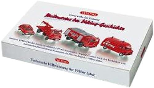 Wiking 099081 Set  Feuerwehr im Einsatz  (1 87)