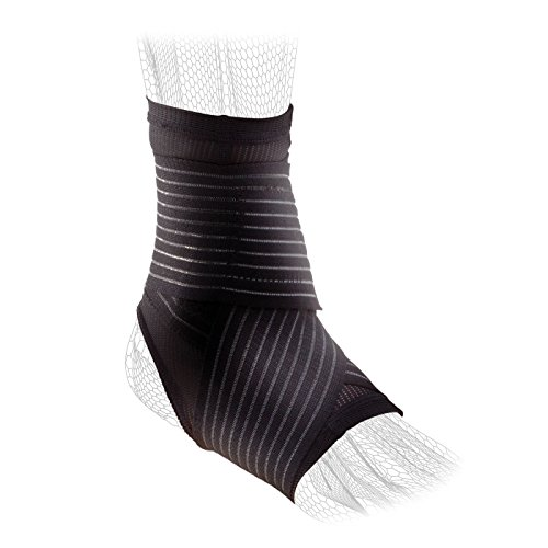 DonJoy Performance Figure 8 Ankle Sleeve with Straps for Moderate Support - Ankle Sprains, Strains, Inflammation, Swelling, Pain - X-Large