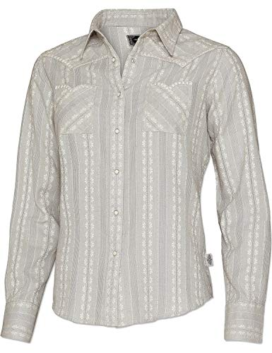 STARS & STRIPES Damen Bluse Westernbluse Bikerin Country Cowgirl Western Westernstyle »Desiree« Gr.XL