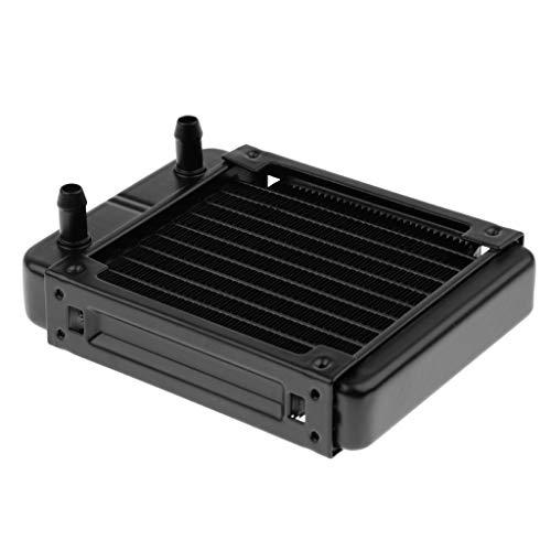 Gazechimp 120mm Wasserkühlung Reihe Aluminium Wasser Wärmetauscher Kühler