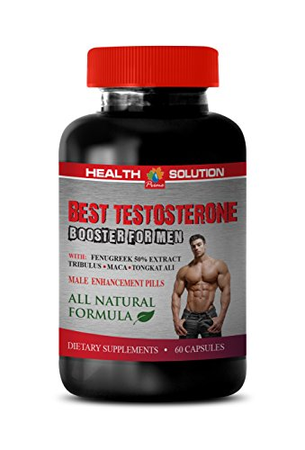 Testosterone Booster for Men Natural - Best Testosterone Booster for Men - Horny Goat Weed with maca - 1 Bottle 60 Capsules