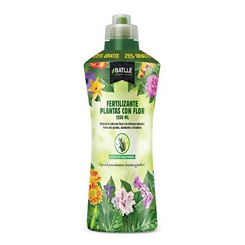 Abonos - Fertilizante Plantas con Flor Botella 1250ml - Batlle