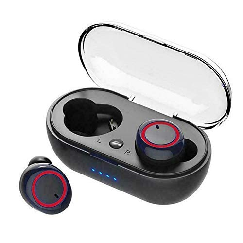 A-myt Cadeaux de Vacances Radio Écouteurs TWS Bluetooth 5.0 Écouteurs Stéréo Stereo Sport Sport Écouteurs pour téléphone Highingfree Gaming Casque avec MIC Monde de la Musique