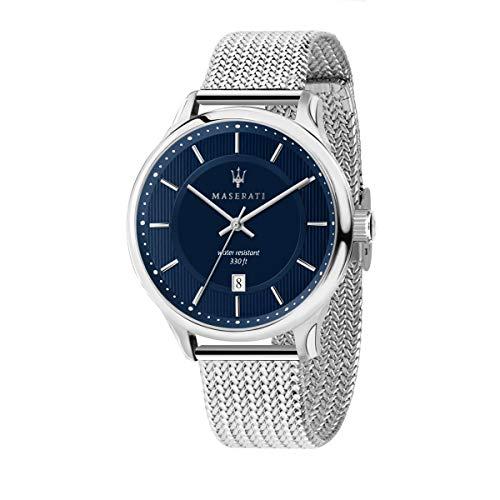 Orologio da uomo, Collezione Gentleman, con movimento al quarzo e funzione solo tempo con data, in acciaio - R8853136002
