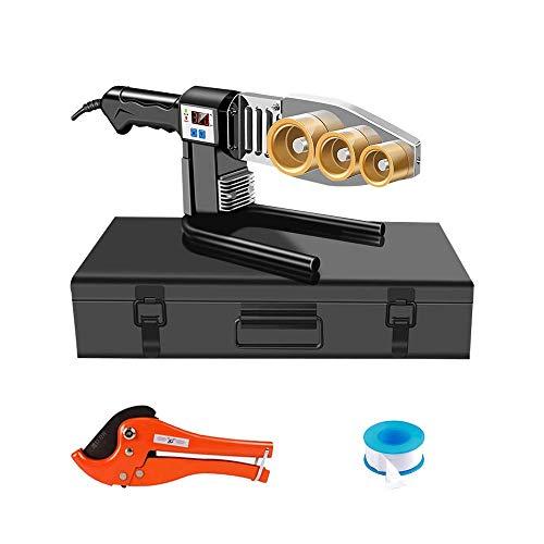 BAOSHISHAN Rohrschweißgerät, Digitalanzeige, Wasserleitungsschweißgerät, Schmelzgerät aus Kunststoff, zum Schweißen von PPR, PE, PP (20–63 mm) Rohren,