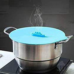 WRPS Cooking Pot Lids Silicone with Titanic Design for Steaming Set of 3