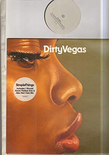 DIRTY VEGAS - SIMPLE THINGS - 12 inch vinyl