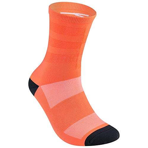 Baisky Cycling Sportswear-Sports Cycling Socks-7 Colors (Fluorescent Orange)