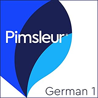 Pimsleur German Level 1 audiobook cover art