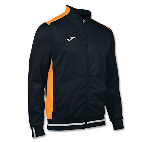 Joma Campus Uniforms And Clothing Sweat-shirt (Football), noir/orange fluo, taille S
