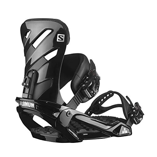 Salomon Rhythm Mens Snowboard Bindings Black Sz M (7-9.5)