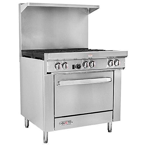 "Gusto - 36"" NG Range w/ 1 Oven & 6 Burners, Each"
