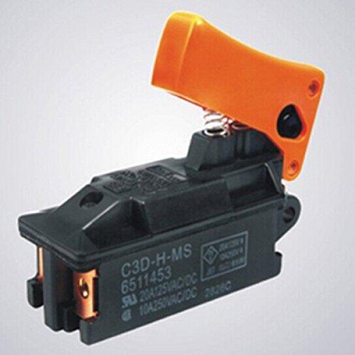 Interruptor para Makita Martillo de demolición Martillo Martillo cincelador HM 1200, HM 1300, HM1500, HR 3520, HR5000