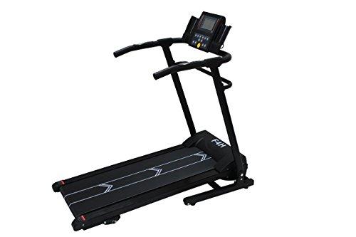 Olympic Strider Unisex's T189B Motorized Folding Treadmill, Black/Red, Large