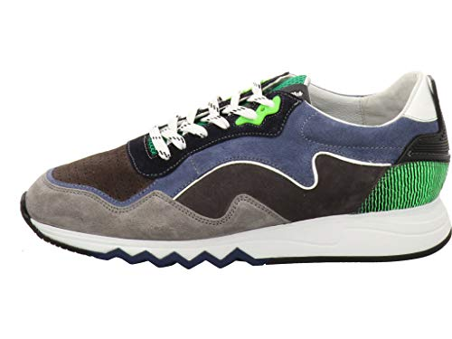 Floris van Bommel 16092 03 Sneaker Blauw Combi