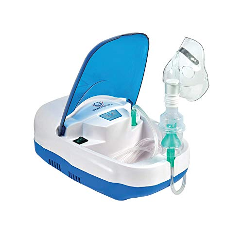 Thermocare Piston Compressure Nebulizer machine with complete kit child and adult mask for baby,kid and adult
