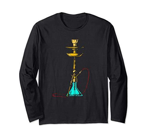 Shisha Shisha Sheesha Persisch Tabak Wasserpfeife Rauchen Langarmshirt