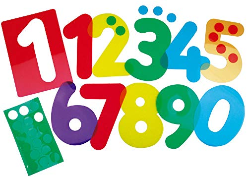 Henbea- Plantilla de Aprendizaje números, trasl&uacutecidos