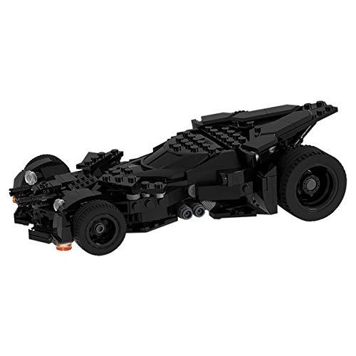 JING Juguete Educativo De Bloques De Construcción, DIY Papeles Creativos De Carácter Batmobile Modelo De Bloques De Construcción Ladrillos Robot Juguete Establece Regalos De Los Niños