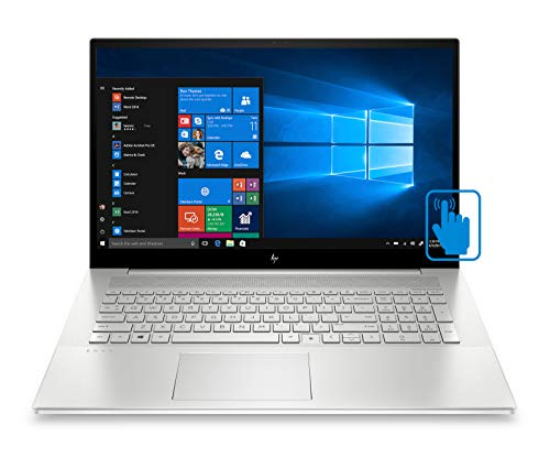 HP Envy 17t-cg000 Home and Entertainment Laptop (Intel i7-1065G7 4-Core, 32GB RAM, 256GB m.2 SATA SSD + 2TB HDD, NVIDIA MX330, 17.3' Touch Full HD (1920x1080), Fingerprint, Win 10 Home) (Renewed)