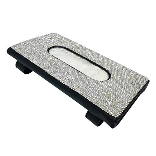 Petty Well Bling Car - Servilletero para pañuelos con diseño de cristales