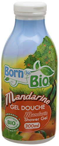 Born To Bio Gel Douche Mandarine 300 ml Lot de 2