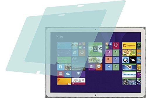 4ProTec I Panasonic Toughpad 4K UT-MA6 (2 Stück) Premium Bildschirmschutzfolie Displayschutzfolie ANTIREFLEX Schutzhülle Bildschirmschutz Bildschirmfolie Folie